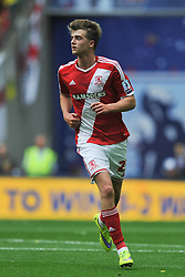 Patrick Bamford Middlesbrough, Middlesbrough v Norwich, Sky Bet Championship, Play Off Final, Wembley Stadium, Monday  25th May 2015