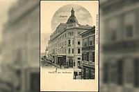 Zagreb : Palača I. hrv. štedionice. <br /> <br /> ImpresumZagreb : Naklada tiskare A. Brusina, [prije 1905].<br /> Materijalni opis1 razglednica : tisak ; 14 x 8,9 cm.<br /> SuradnikMosinger, Rudolf(1865.–1918.)<br /> NakladnikTiskara A. Brusina<br /> Vrstavizualna građa • razglednice<br /> ZbirkaZbirka razglednica • Grafička zbirka NSK<br /> Formatimage/jpeg<br /> PredmetZagreb –– Ilica<br /> SignaturaRZG-ILIC-47<br /> Obuhvat(vremenski)20. stoljeće<br /> NapomenaRazglednica je tiskana po fotografiji Rudolfa Mosingera. • Poleđina razglednice namijenjena je samo za adresu. • Razglednica nije putovala.<br /> PravaJavno dobro<br /> Identifikatori000945950<br /> NBN.HRNBN: urn:nbn:hr:238:947316 <br /> <br /> Izvor: Digitalne zbirke Nacionalne i sveučilišne knjižnice u Zagrebu