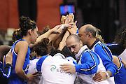 Cile 27/07/2011<br /> Campionato Mondiale Femminile U19<br /> Russia-Italia<br /> nella foto: team Nazionale Italia<br /> foto ciamillo-castoria