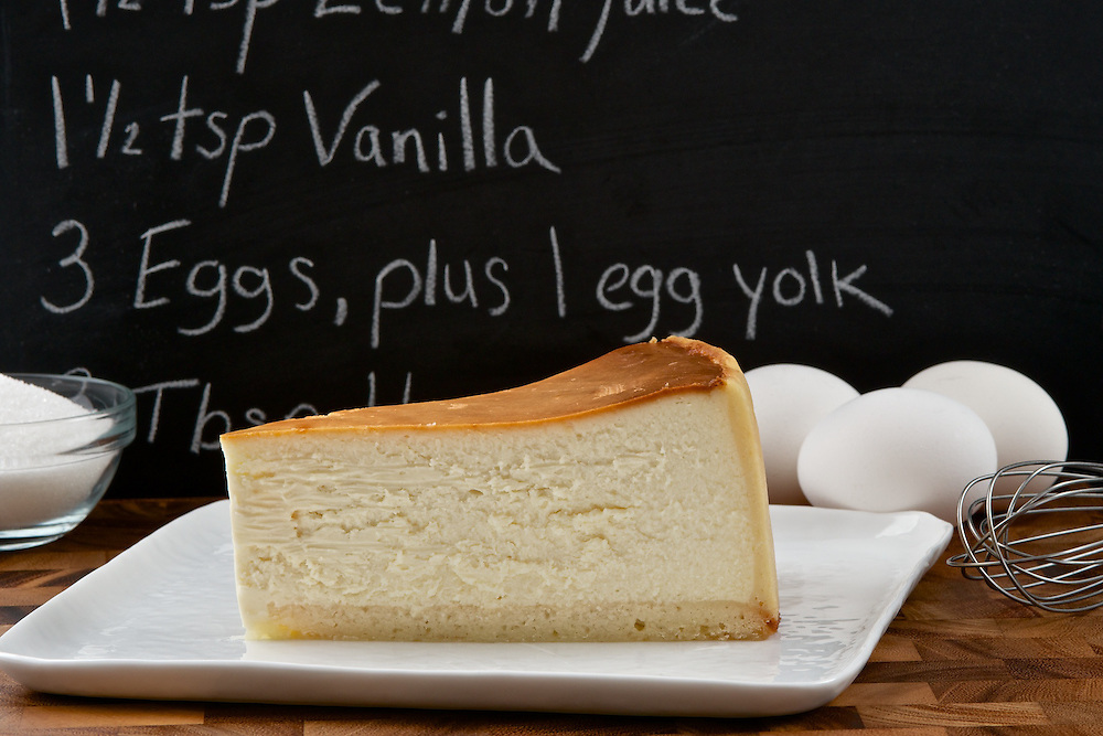World-famous Carnegie Deli's Cheese Cake.