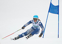 Macomber Cup at Gunstock second run ladies giant slalom January 29, 2011.