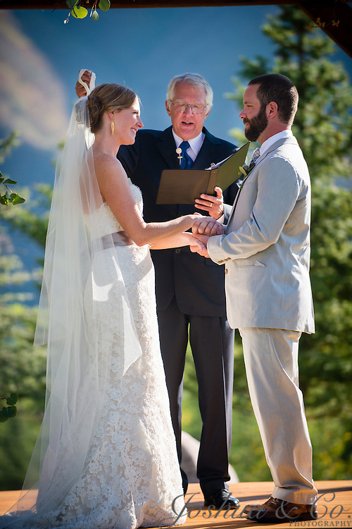Jeff Sansone and Katie Schmidt's wedding at the Roaring Fork Club in Basalt, Colorado, on September 15, 2012...Joshua Lawton // Joshua & Co. Photography ..www.joshuacophotography.com