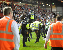 - Photo mandatory by-line: Dougie Allward/JMP - Tel: Mobile: 07966 386802 04/09/2013 - SPORT - FOOTBALL -  Ashton Gate - Bristol - Bristol City V Bristol Rovers - Johnstone Paint Trophy - First Round - Bristol Derby