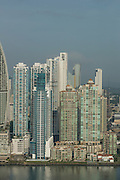 Skyscrapers in Punta Pacifica neighbourhood, Panama City, Panama, Central America