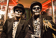 Halloween costumers in the French Quarter and on Frenchmen Street in the Faubourg Marigny