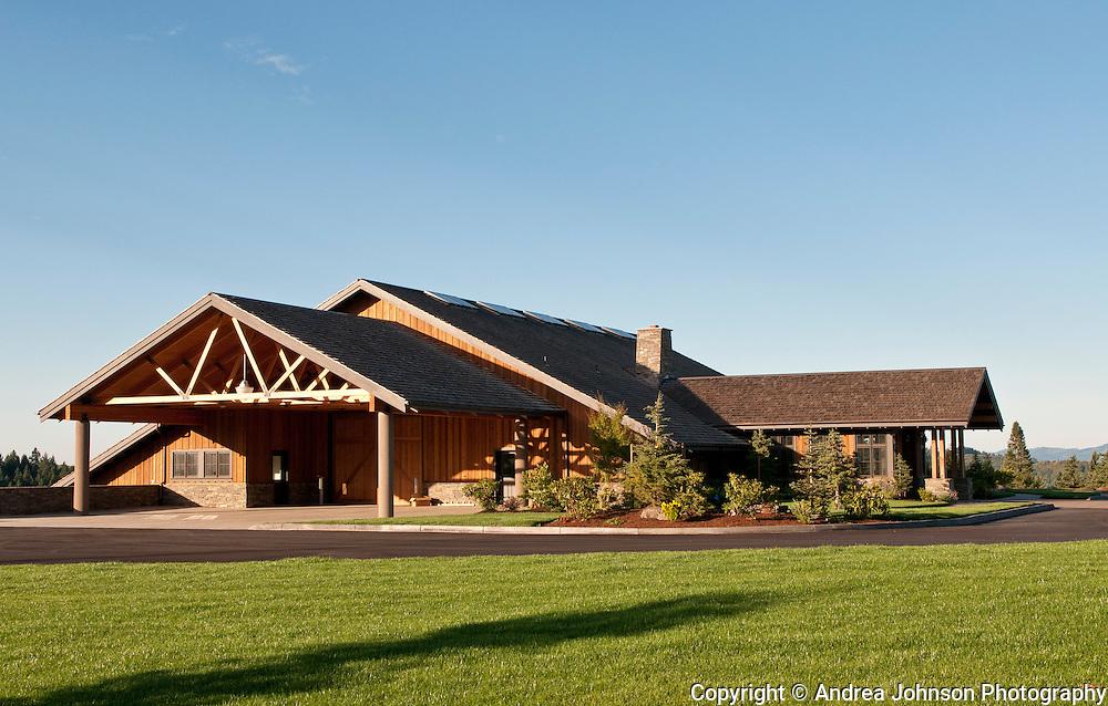 Colene Clemens winery & estate vineyard, Yamhill-Carlton AVA, Willamette Valley, Oregon
