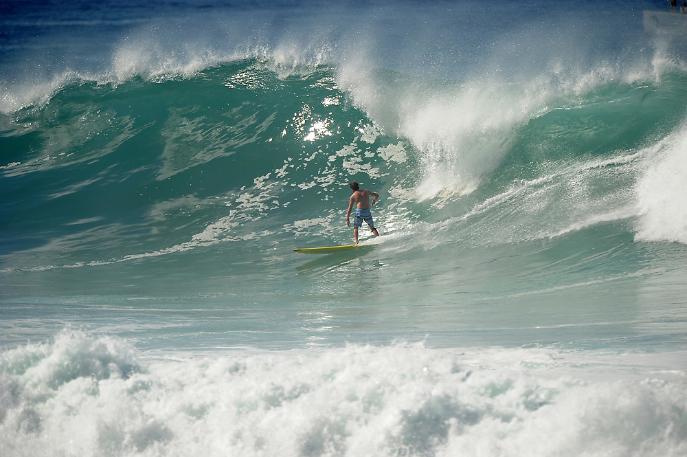 November 2nd 2010: Harley Ingleby free surfing at Makaha Oahu-Hawaii. Photo by Matt Roberts/mattrIMAGES.com.au