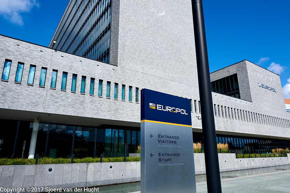 Europol, Den Haag. Multinationale onderzoeksorganisatie en het samenwerkingsverband van de politiediensten van de Europese Unie - Europol, The Hague, Netherlands. The law enforcement agency of the European Union