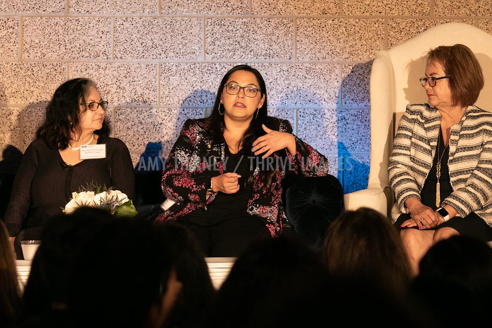 Senator Antoinette Sedillo Lopez, Senator Juli Gonzales, Senator Maria Elena Durazo