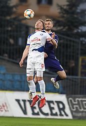 Lovro Cvek of Celje and Alexandru Cretu in action during football match between NK Maribor and NK Celje in Round #24 of Prva liga Telekom Slovenije 2018/19, on March 30, 2019 in stadium Ljudski vrt, Maribor, Slovenia. Photo by Milos Vujinovic / Sportida