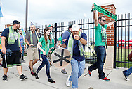 June 1, 2016: OKC Energy FC plays Rayo OKC in the third round of the US Open Cup at Miller Stadium in Yukon, Oklahoma.