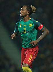 Cameroon's Gaetan Bong during the international friendly match at Stadium MK, Milton Keynes.