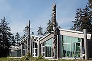The Haida Heritage Center in Queen Charlotte City, Haida Gwaii.