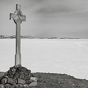 Vince's Cross on Hut Point