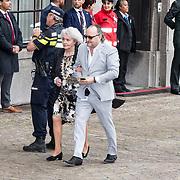 NLD/Den Haag/20190917 - Prinsjesdag 2019, Dion Graus met zijn moeder