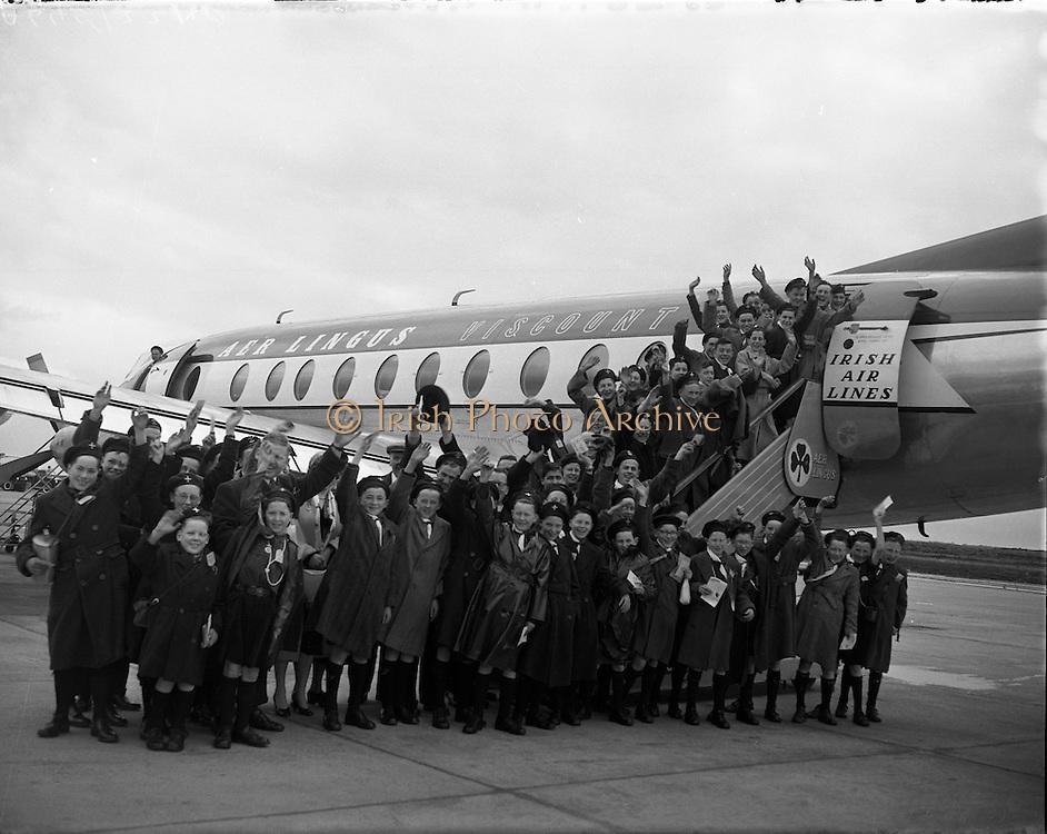 Aer Lingus Special - Pilgramage to Lourdes .09/04/1958 .