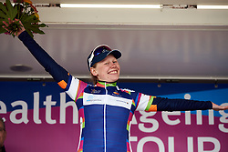 Stage winner, Mieke Kröger (GER) at Healthy Ageing Tour 2019 - Stage 2, a 134.4 km road race starting and finishing in Surhuisterveen, Netherlands on April 11, 2019. Photo by Sean Robinson/velofocus.com