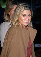 Queen Maxima attends Thursday January 7 in The Hermitage museum in Amsterdam at the signing of a loa