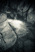 water fall, Stockley Beck, Borrowdale, Lake District, Cumbria, UK