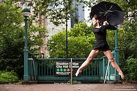 Dancing In The Rain: New York City Subway Dance As Art featuring dancer Lindsey Horrigan.