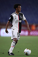 Juventus's Colombian midfielder Juan Cuadrado during the Serie A match at Luigi Ferraris, Genoa. Picture date: 30th June 2020. Picture credit should read: Jonathan Moscrop/Sportimage