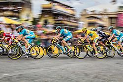Vincenzo Nibali (ITA) of Astana Pro Team, Tour de France, Stage 21: Évry > Paris Champs-Élysées, UCI WorldTour, 2.UWT, Paris Champs-Élysées, France, 27th July 2014, Photo by Thomas van Bracht / PelotonPhotos.com