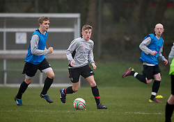 CARDIFF, WALES - Thursday, March 15, 2012: Wales U16's Joseff Morrell (Bristol Ciy FC & The Castle Thornbury) during a training session at the Glamorgan Sports Park. (Pic by David Rawcliffe/Propaganda)