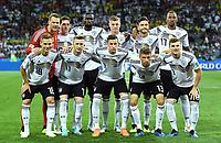 Team Deutschland lagbilde<br /> Sotschi, 23.06.2018, FIFA Fussball WM 2018 in Russland, Vorrunde, <br /> Tyskland - Sverige<br /> <br /> Norway only