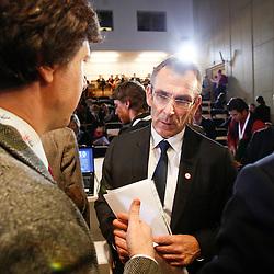 20111215 - Poland - Warsaw  - European Development Days  2011 - Press Conference - Andris Piebalgs , European Commissioner for Development © European Union