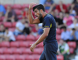 Southampton's Graziano Pelle - Photo mandatory by-line: Joe Meredith/JMP - Mobile: 07966 386802 21/07/2014 - SPORT - FOOTBALL - Swindon - County Ground - Swindon Town v Southampton