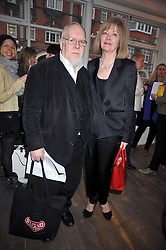 SIR PETER & LADY BLAKE at a private view entitled 'No Love Lost' by artists Daisy de Villeneuve and Natasha Law held at Eleven, 11 Eccleston Street, London SW1 on 31st March 2009.