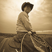 &ldquo;Comes a Horseman&rdquo; <br /> Chris Cox <br /> Diamond Double C Ranch, Mineral Wells, Texas, 2008                                                                  30 x 40