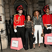 LOUISE THOMPSON , EMILY SHAK ARRIVERS BOUX AVENUE XMAS CAMPAIGN LAUNCH EVENT at SOMERSET HOUSE, on 9 November 2018, London, UK.