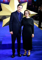 Director and writers Ryan Fleck (left) and Anna Boden attending the Captain Marvel European Premiere held at the Curzon Mayfair, London. Picture date: Wednesday February 27, 2019. Photo credit should read: Ian West/PA Wire