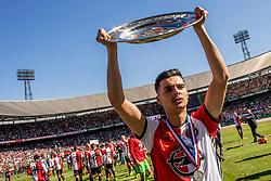 14-05-2017 NED: Kampioenswedstrijd Feyenoord - Heracles Almelo, Rotterdam<br /> In een uitverkochte Kuip pakt Feyenoord met een 3-1 overwinning het landskampioenschap / Mo el Hankouri #40