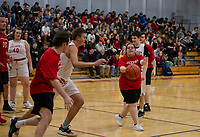 Unified Basketball Belmont hosts Laconia.    Karen Bobotas for the Laconia Daily Sun