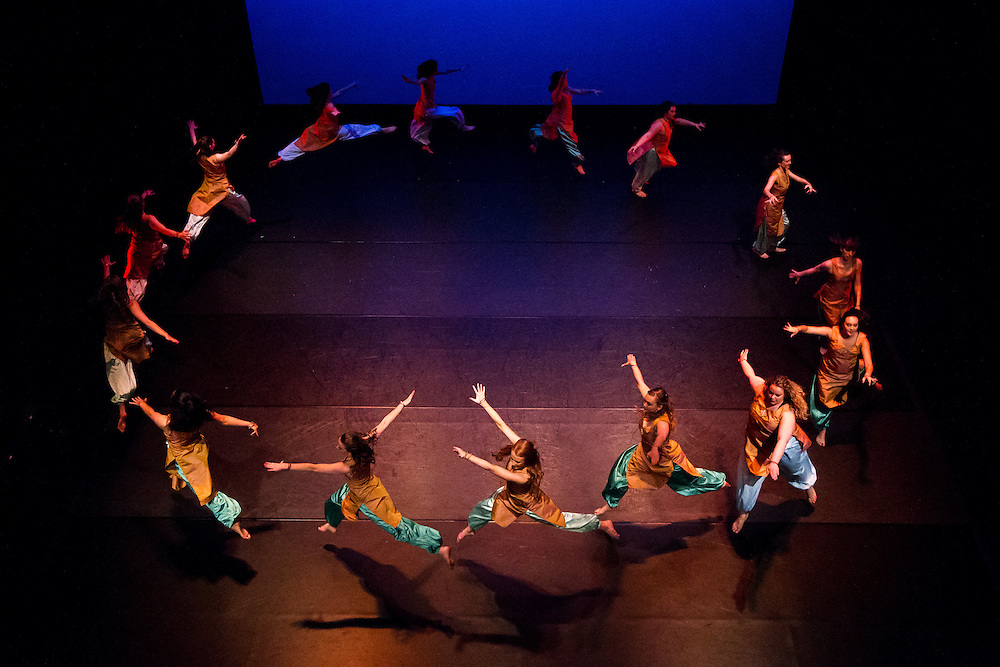 The Spring Dance concert (dress rehearsal) on Wednesday, April 20, 2016. (Photo by Ryan Sullivan)