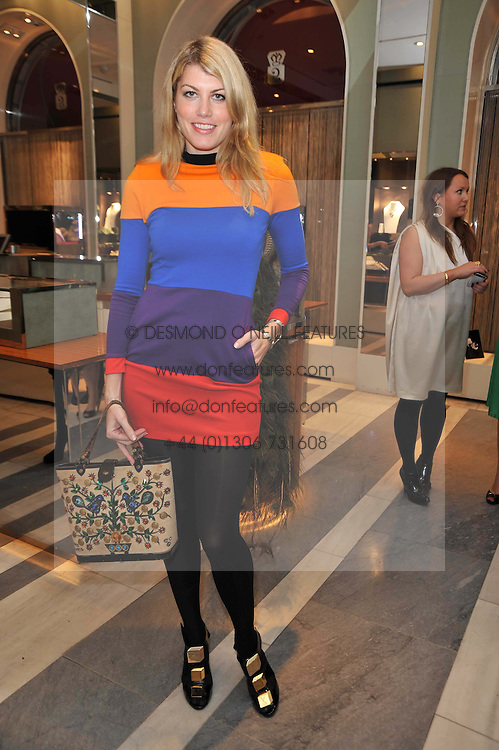 MEREDITH OSTROM at a party to launch the Georgina Chapman collection for Garrard held at Garrard, Albermarle Street, London on 4th November 2009.