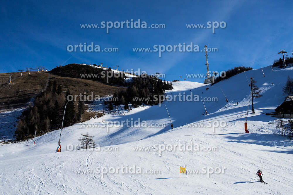 Krvavec SKI Resort, on December 21, 2016 in Krvavec, Slovenia. Photo by Vid Ponikvar / Sportida
