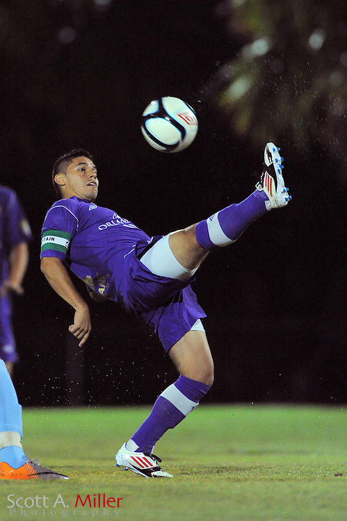Orlando City U23 player Jonathan Mendoza (11) in action during the Lions US Open Cup game against Jacksonville United on May 15, 2012 in Sanford, Fla. ..©2012 Scott A. Miller..