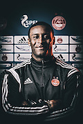 Tuesday 24th February, 2015, Aberdeen, Scotland. AFC Programme<br /> Pictured: Donervorn Daniels<br /> <br /> (Photo: Ross Johnston/Newsline Media)