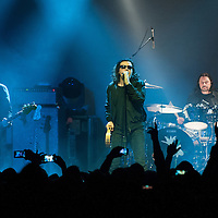 The Cult at The Barrowlands, Glasgow, Britain 4th March 2016