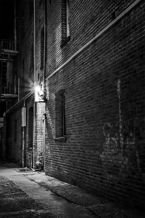 One-Light Alley, Redwood City, CA