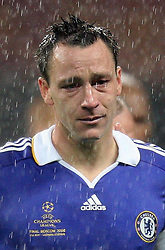 File photo dated 21-05-2008 of Chelsea's John Terry is dejected following the UEFA Champions League Final at the Luzhniki Stadium, Moscow, Russia.