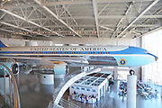 Air Force One Reagan Library