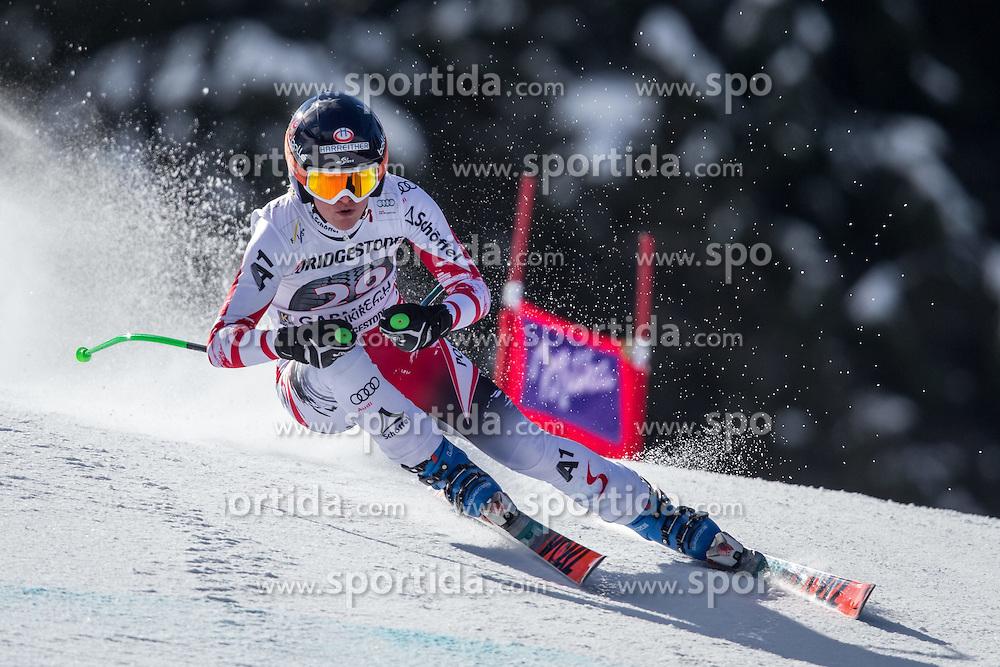 06.03.2015, Kandahar, Garmisch Partenkirchen, GER, FIS Weltcup Ski Alpin, Abfahrt, Damen, 1. Trainingslauf, im Bild Andrea Fischbacher (AUT) // Andrea Fischbacher of Austria during 1st training run for the ladie's Downhill of the FIS Ski Alpine World Cup at the Kandahar course, Garmisch Partenkirchen, Germany on 2015/03/06. EXPA Pictures © 2015, PhotoCredit: EXPA/ Johann Groder