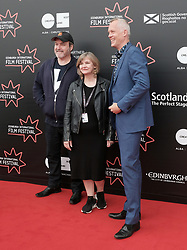 Edinburgh International Film Festival, Thursday 22nd June 2017<br /> <br /> Juror's photocall<br /> <br /> David Arnold, Andrea Gibb, and Bero Beyer<br /> <br /> (c) Alex Todd | Edinburgh Elite media