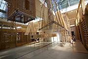 "12th Biennale of Architecture. Giardini. Czechoslovak pavillion. Martin Rajnis and e-mrak together with Zlaty rez, ""Natural Architecture"", 2010."