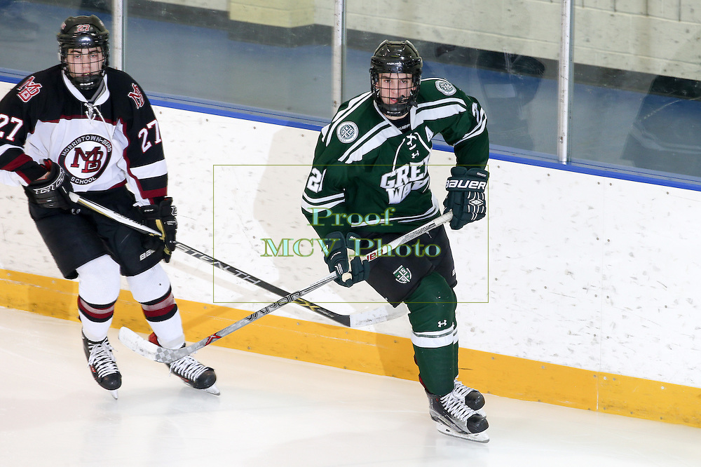 Delbarton Green Wave Ice Hockey 2016 at Mennen