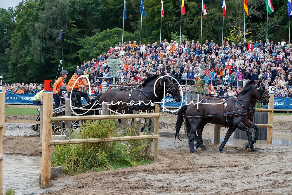 Chardon IJsbrand, NED, Baldun, Eddy, Senator, Winston E, Zion<br /> FEI European Driving Championships - Goteborg 2017 <br /> &copy; Hippo Foto - Dirk Caremans<br /> 26/08/2017,